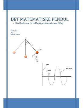 SRO om det matematiske pendul