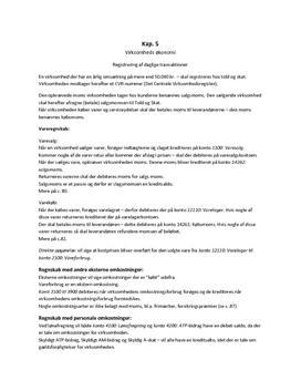 Kap. 5, Virksomhedsøkonomi B, systime