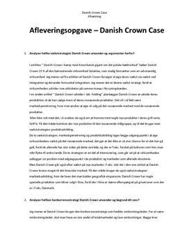 Danish Crown | Analyse