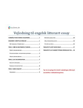 vejledning til engelsk essay p a-niveau Topic: vejledning til engelsk essay p a niveau – vejledning til engelsk essay p a niveau – 344808 home essay engelsk a niveau – chairshunter passage the essay engelsk a niveau paragraphs and phrases in your essay writing of view, amount, main.