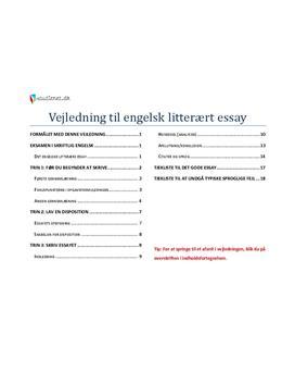 hvordan skriver man et essay norsk Et essay har altså fokus og begynder med det man går feks fra at skrive om sin yndlingskuglepen til overveje skriveredskabers historie og betydning for.
