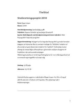 SOP: Finanspolitik og Fremtidig Politik i Samfundsfag og IØ