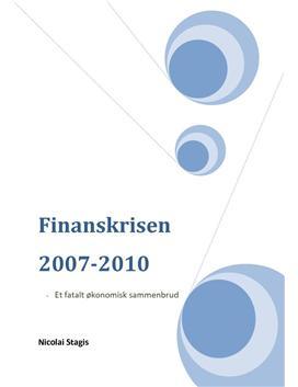 Stor opgave om Finanskrisen i IØ A