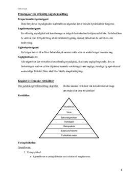 Noter til Juraens Grundregler