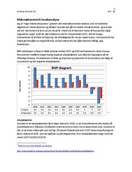 Makroøkonomisk landeanalyse af Irland