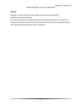 Titrerkurver og logistisk vækstkurve | SRO