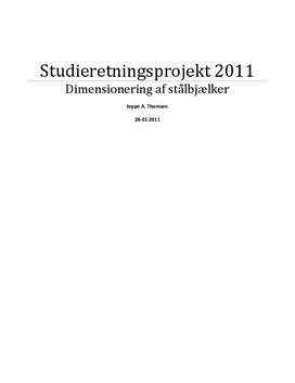 SRP: Dimensionering af Stålbjælker i Teknikfag og Fysik