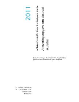 Analyse af Bjørn Nørgaards Den genmodificerede havfrue | Billedkunst C