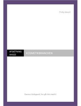 Kosmetikbranchen | Brancheanalyse