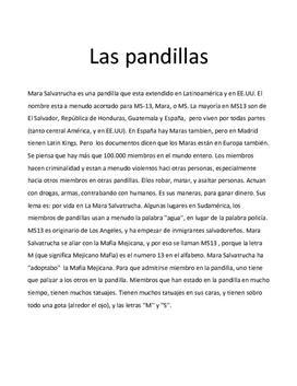 Mara Salvatrucha | Las pandillas | Spansk A