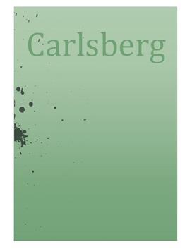 SOP om Carlsberg i Virksomhedsøkonomi A og Afsætning B