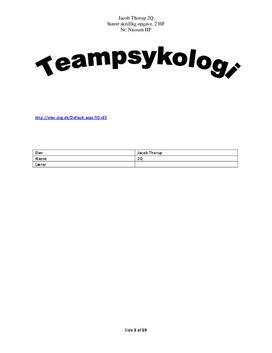sso i psykologi
