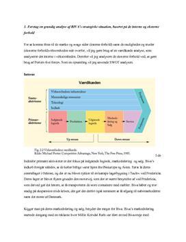 Biva - interne og eksterne forhold