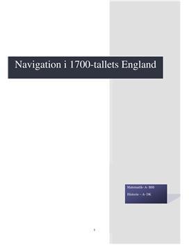 SRP om Navigation i Matematik A og Historie A