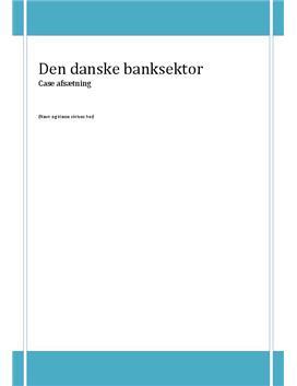 Case - Den Danske Banksektor