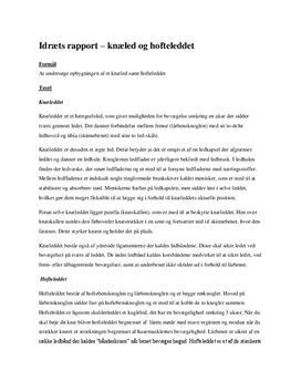 Dissektion af Kylling | Knæled og hofteled