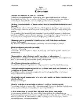 Besvarelser til Kapitel 1Retskilder og EU