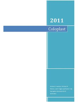 Rapport: Coloplast