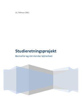 SOP om Bestseller på det danske marked i Afsætning A og VØ A