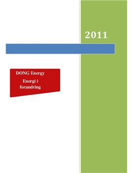 SOP om DONG Energy i Afsætning og International Økonomi