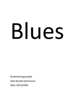 SRP om Blues i Musik A og Historie A