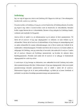 SOP om Firmaet Carlsberg A/S i Afsætning A og Dansk A