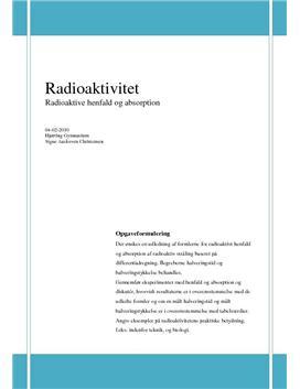 SRO - Radioaktivt henfald og absorption