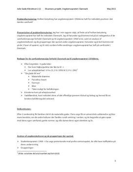 Eksamensprojekt - Ungdomsoprøret