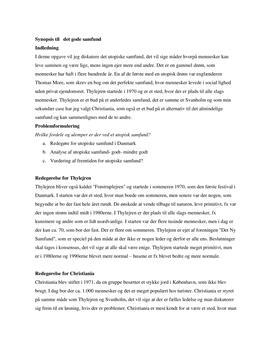 Det gode samfund | KS synopsis