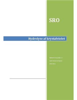 SRO: Hydrolyse af krystalviolet