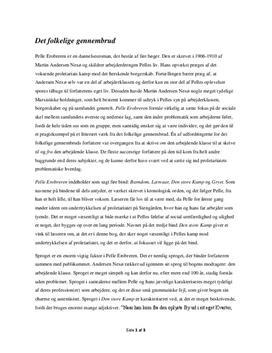 analyse af gyldholm