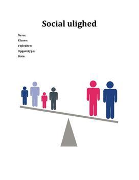 SRO om social ulighed i USA og Danmark samfundsfag A og matematik C
