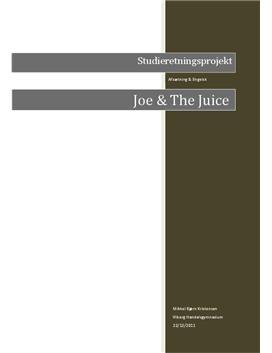 SOP om Joe & The Juice i Afsætning A og Engelsk A