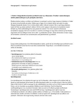 Vulkaner og Pladetektonik - Rapport i Naturgeografi