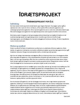 Forbedring af den aerobe arbejdsevne | Træningsprojekt
