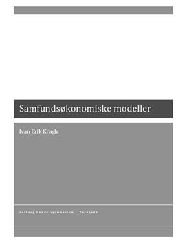 SOP om Samfundsøkonomiske Modeller i IØ og Matematik