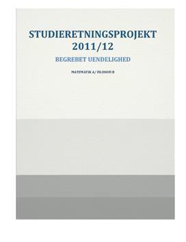SRP om Uendelighedsbegrebet i Matematik A og Filosofi B