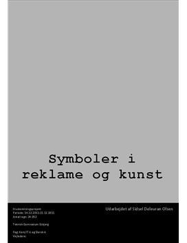 SOP: Symboler i Kunst og Reklame i Dansk og Kommunikation/IT