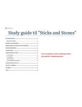 sticks and stones essay Sticks and stones trezza azzopardi essay, help with 1st grade homework, help essay writing uk yesterday, i read bettina drew's fabulous essay called department of.
