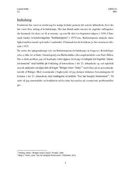 SRO: Feminisme i det senmoderne samfund