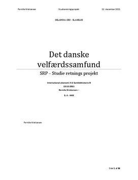 SOP om Det Danske Velfærdssamfund i Historie og IØ