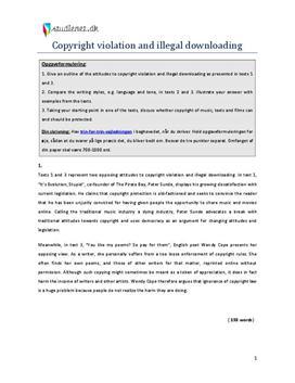 analytisk essay engelsk opbygning