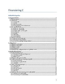 Notater til kap. 2-7 i Grundlæggende Finansiering fra Systime.