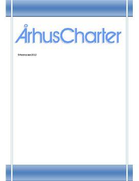 Synopsis om Århus Charter - Erhvervscase