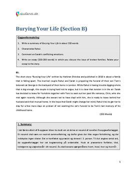 skriftlig engelsk eksamen hf