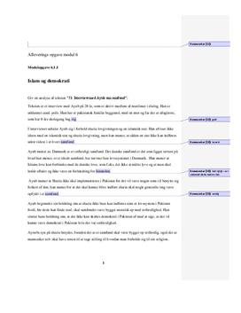 Interview med Ayub om samfund | Analyse