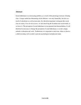 Submarino og social arv | SRP i Samfundsfag og Dansk