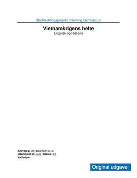Vietnamkrigens Helte | SRP i Engelsk og Historie