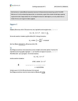 matematik hf c