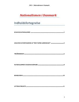 DHO om Nationalismen i Danmark og Dengang jeg drog af sted